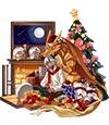 奥拉星圣诞前夜天龙座(皮肤)