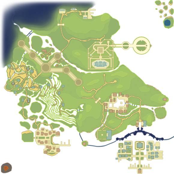 我的起源新地图
