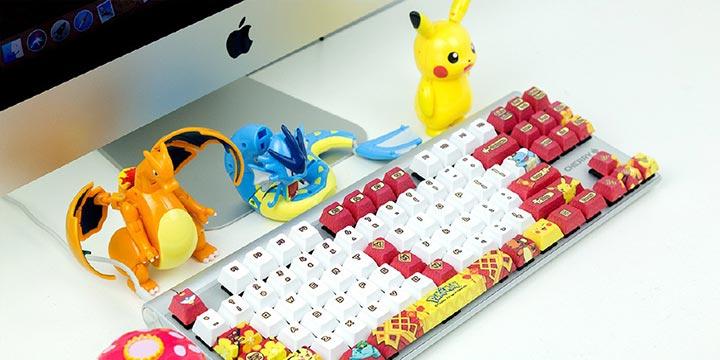 Cherry将推出两款宝可梦主题键盘!圣诞和新年主题都有了