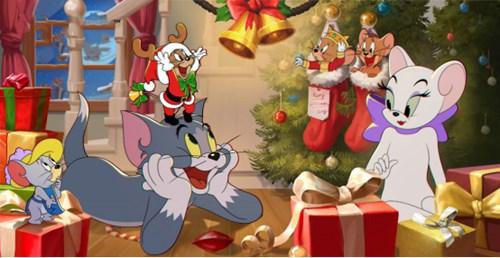 CF手游今年圣诞和斯沃特过,开启圣诞小故事