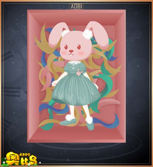 奥比岛可爱兔子毛衣装图鉴
