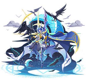 奥奇传说暗鹫极夜月影王