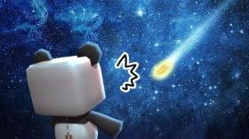 迷你世界神秘的流星 可以做飞机的推进器登场!