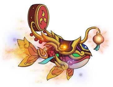 造梦西游4手机版幻焰龙鱼