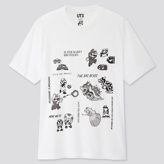 优衣库x超级马里奥联动新款T恤