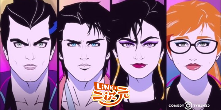 「Link・二次元」欢迎来到梦滨城,放弃人生和毁灭世界之外的第三种可能