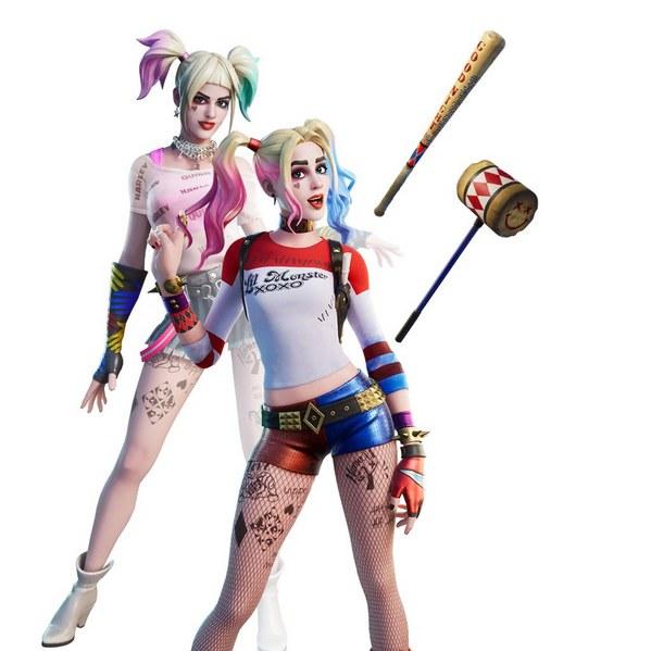 堡垒之夜xDC再联动 小丑女加入堡垒之夜!