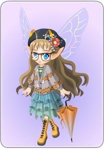小花仙星雨星愿套装
