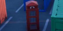 堡垒之夜变身电话亭在哪里 在不同的比赛中藏身于变身电话亭中