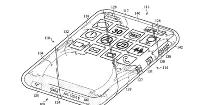 苹果新专利曝光,iPhone它全是屏?摔一下就是心碎的声音