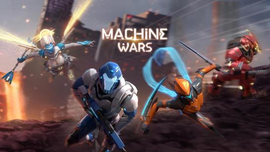 机甲是男人的浪漫!机甲竞技对战《Machine Wars 机战》2月25日开测