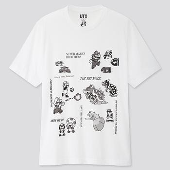 优衣库联动超级马里奥T恤来袭,这个价格必须all in