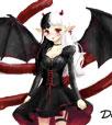 小花仙手绘evil小恶魔