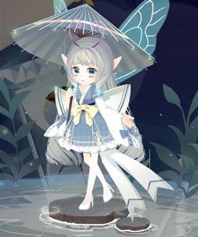 小花仙花瓣秀 雨中女郎