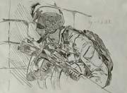 生死狙击玩家手绘-M16A3