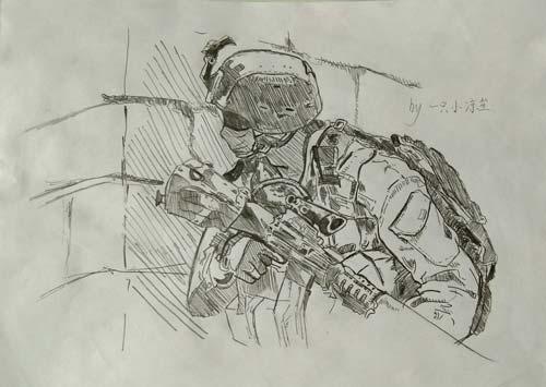 ÉúËÀ¾Ñ»÷Íæ¼ÒÊÖ»æ-M16A3