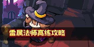 我的勇者雷属法师高练攻略:王财雷法