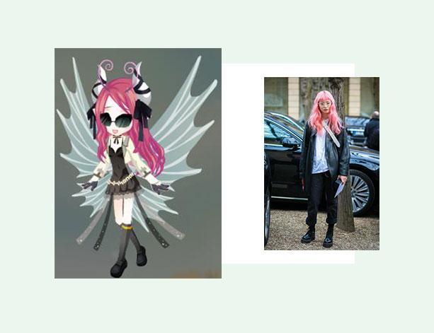 Monika的时尚笔记-小花仙穿搭