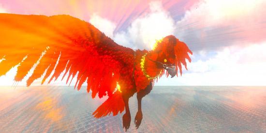 方舟生存进化火焰鸟