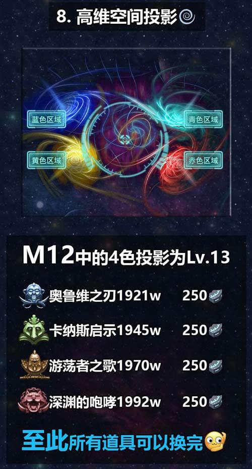 不思议迷宫M12星域攻略 M12星域建筑解析