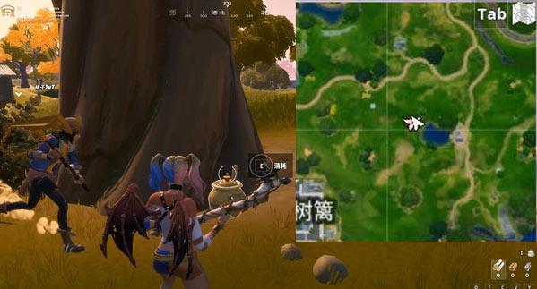 堡垒之夜隐藏任务 为地精而战泰迪进攻计划搜寻蜂蜜罐