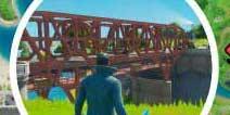 堡垒之夜紫色红色和蓝色的钢桥在哪里 驾驶直升飞机从紫色、红色和蓝色的钢桥下穿过