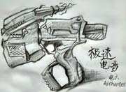 生死狙击玩家手绘-极速电音