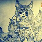 造梦西游5造梦西游5绘画手绘九尾灵狐