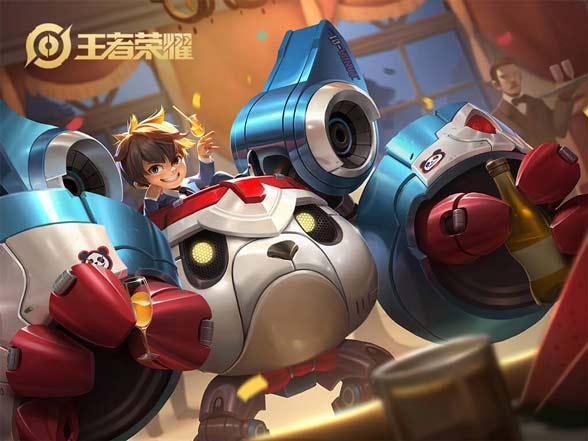 王者荣耀刘禅绅士熊猫