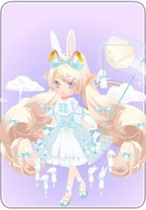 小花仙萌兔晴雨表套装