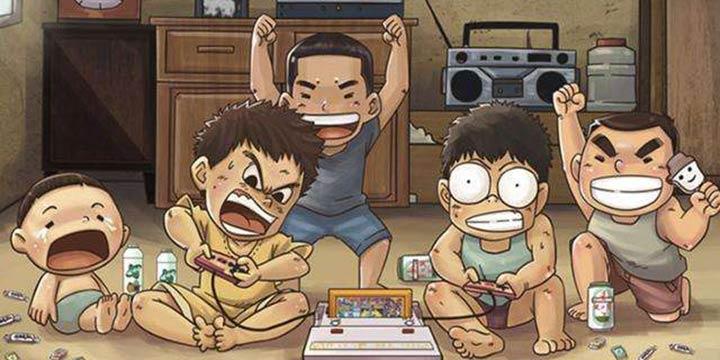 【就哔哔】你有哪些童年游戏美好的回忆呢?