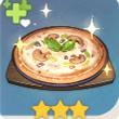 原神美味的烤蘑菇披萨