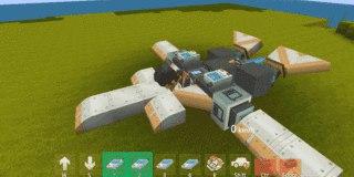迷你世界飞机怎么做 可以飞的飞机制作教程