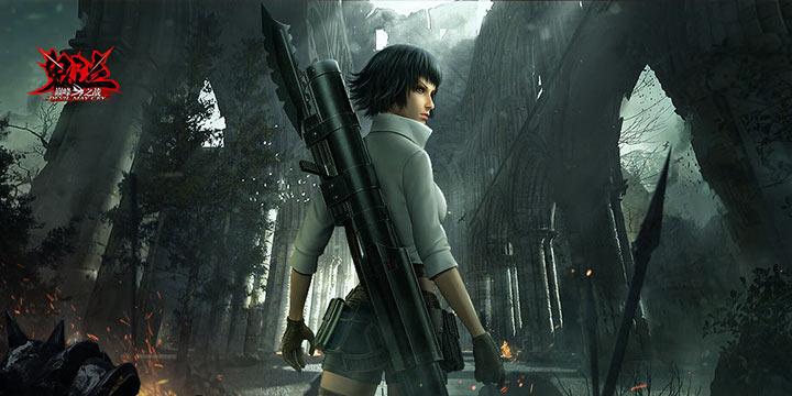 《鬼泣-巅峰之战》7月23日将开启限量测试!女性新角色蕾蒂登场!