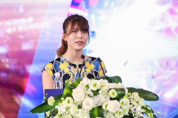 祖龙娱乐有限公司副总裁赵园园