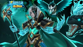 星耀对决新追捕者揭秘丨猎魂召唤使-里斯特 首位双形态追捕者登场!