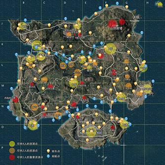 海岛地图解析