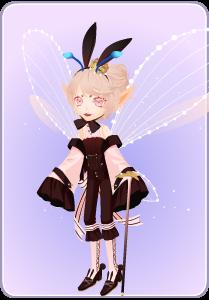 小花仙粉兔轻语套装