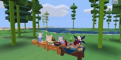 奶块吃货福利:超级食物桌来袭,为你增加神秘特效