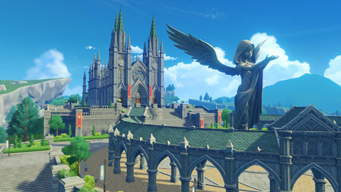 七天神像与西风大教堂