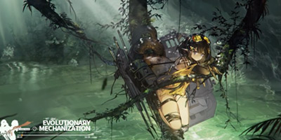 明日方舟森蚺新歌发布 《Evolutionary Mechanization》电音、摇滚、原始丛林