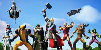 堡垒之夜V14.00更新公告 新赛季漫威英雄加入英雄季卡