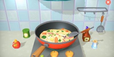 摩尔庄园这次爆料很精彩!厨师做菜过程、情景交互彩蛋