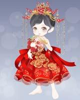 奥比岛中式新娘单品图鉴