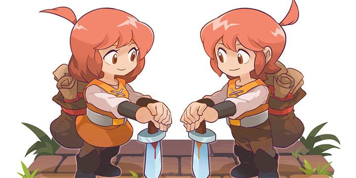 本职快递副业骑士,经典放置RPG《邮差骑士》系列最新作预约开启!