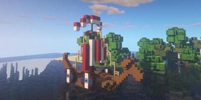 我的世界小绵羊船制作教程 带你一起进入童话世界