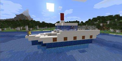 我的世界游轮教程 如何简单制作一艘游轮