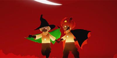 红月斜升,女巫忽现丨《光·遇》万圣节活动先导曝光