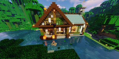 我的世界复古风格小屋 简单又有趣的女巫之家