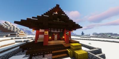 我的世界雪山小屋搭建教程 飘雪下的温暖归处